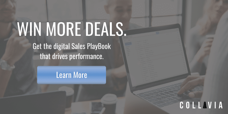 Win more deals with a Collavia digital Sales PlayBook