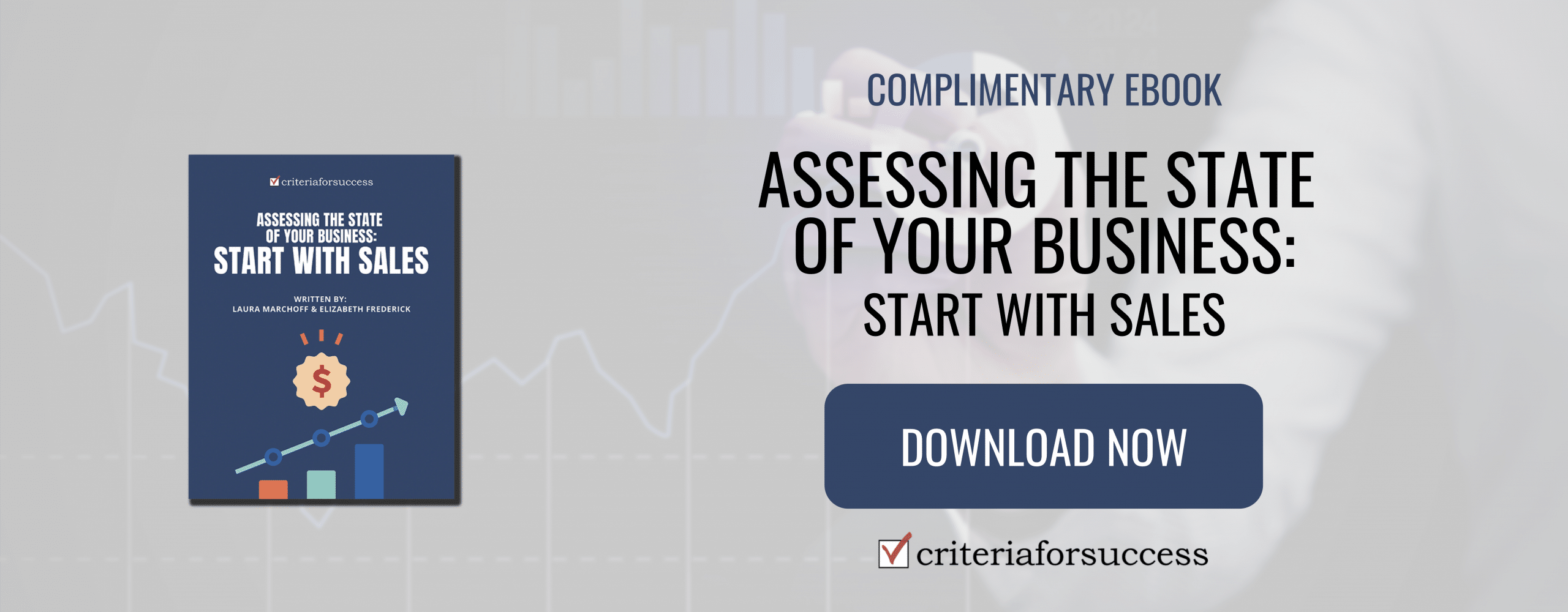 Assessing the State of Your Business: Start with Sales