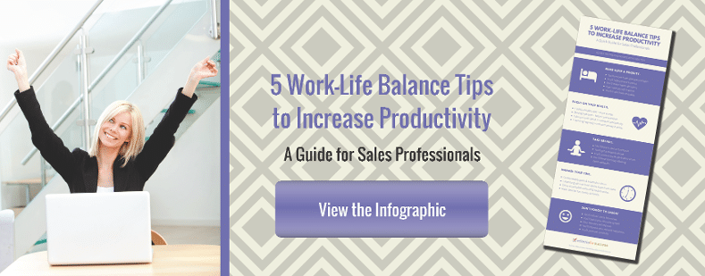 5 Work-Life Balance Tips to Increase Productivity - Infographic