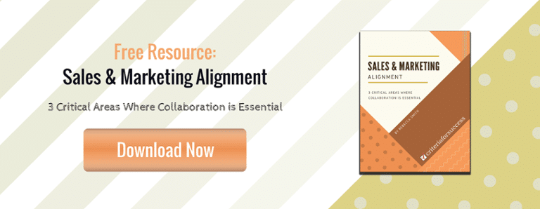 Free eBook: Sales & Marketing Alignment: 3 Critical Areas Where Collaboration is Essential