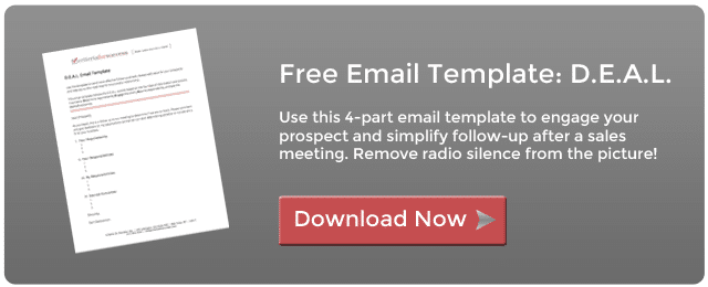 Free sales email template download