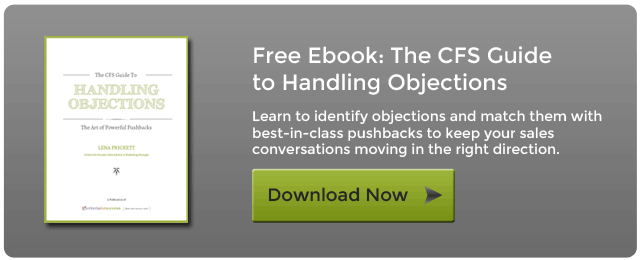 The CFS Guide to Handling Objections