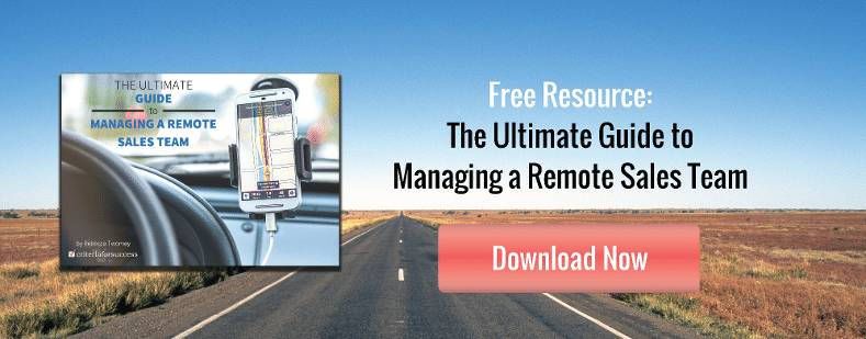 Complimentary Resource: The Ultimate Guide to Managing a Remote Sales Team