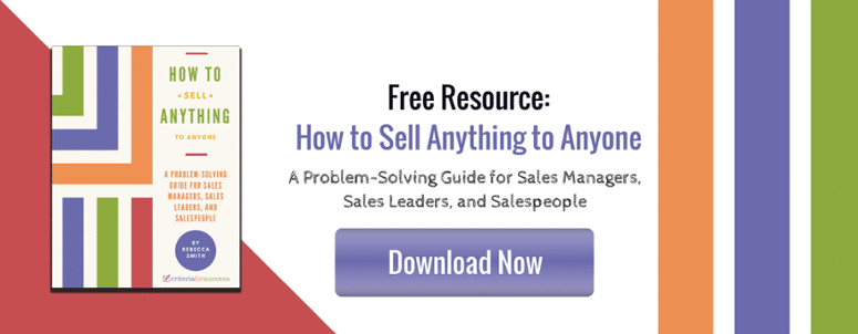 eBook: How to Sell Anything to Anyone - A Problem-Solving Guide for Sales Managers, Sales Leaders, & Salespeople
